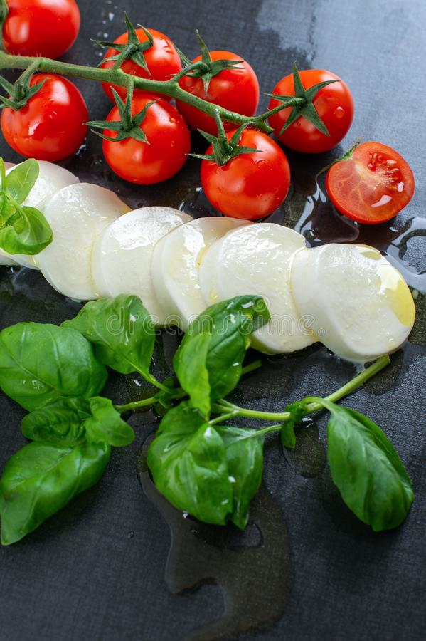 Italian Food Flag royalty free stock images