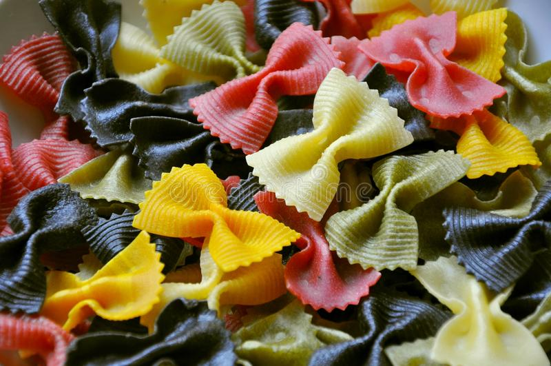 Italian food: pasta royalty free stock image