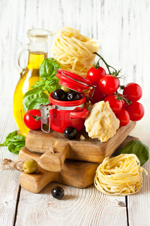 Italian food. royalty free stock image
