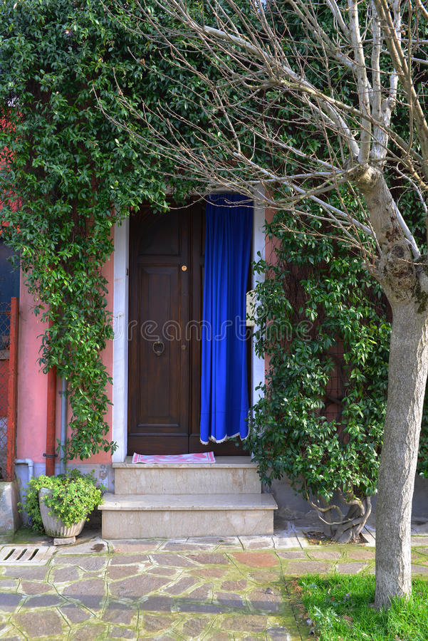 Download Unique front door stock image. Image of entrance, house - 29797309