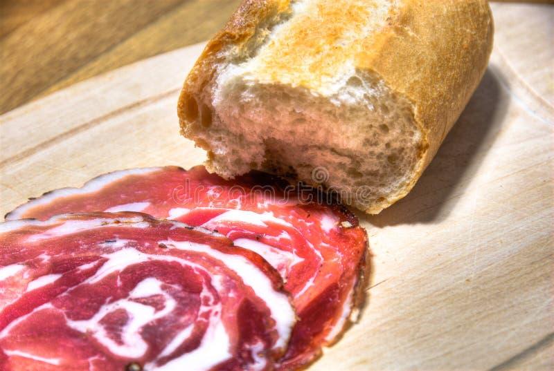 Italian gammon and bread