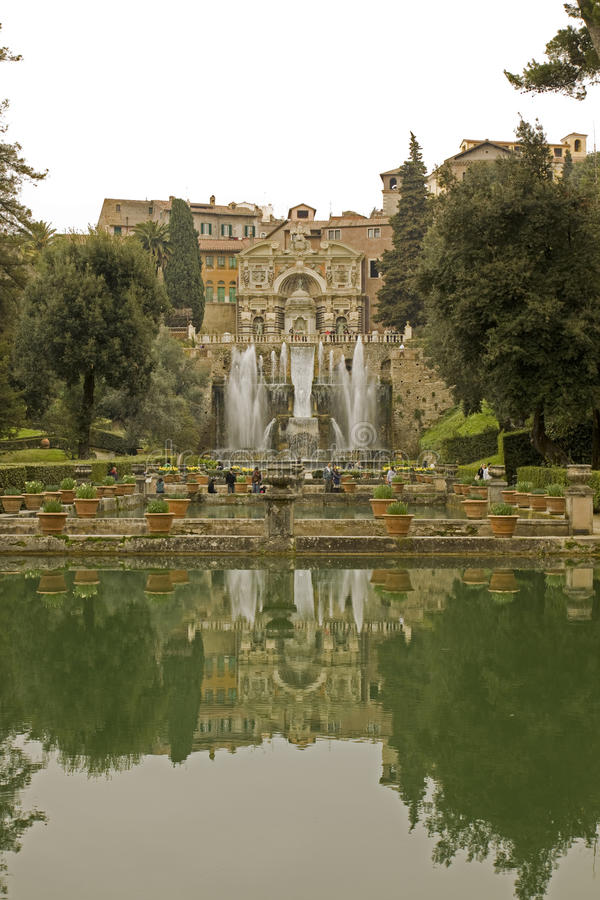 Free Italian Garden With Fountains Stock Photography - 13685932