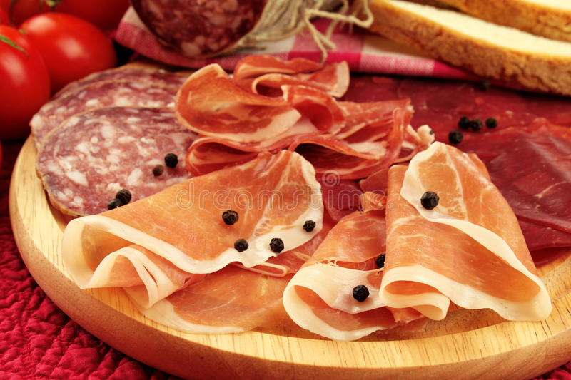Download Italian Ham And Salami Royalty Free Stock Images - Image: 22996439