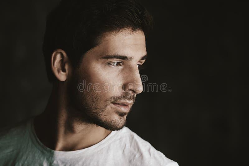 Italian handsome man royalty free stock photography