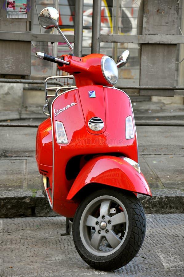 Italian Icon: Vespa Scooter Editorial Stock Photo