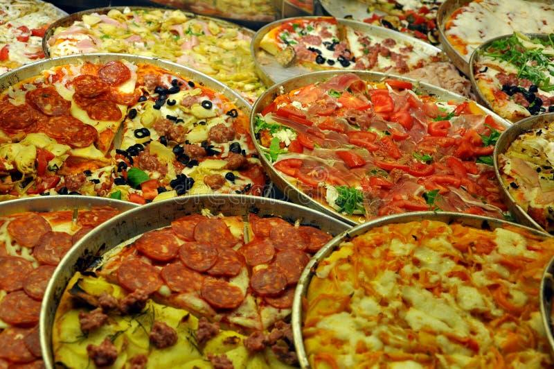 Italian iconic food: pizza royalty free stock image