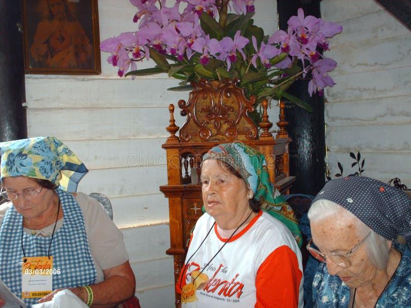 Italian immigrants, Brazil royalty free stock photography
