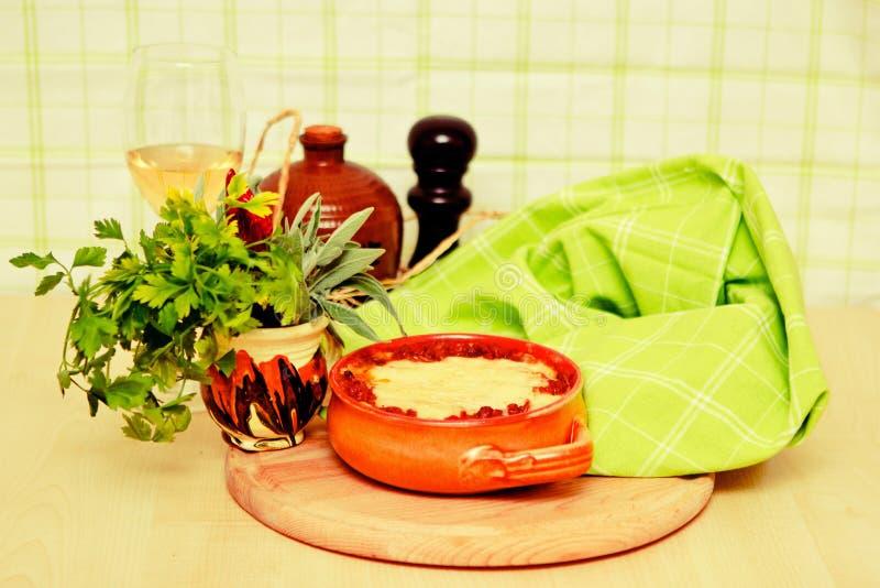 Download Italian lasagna bolognese stock photo. Image of food - 18884636