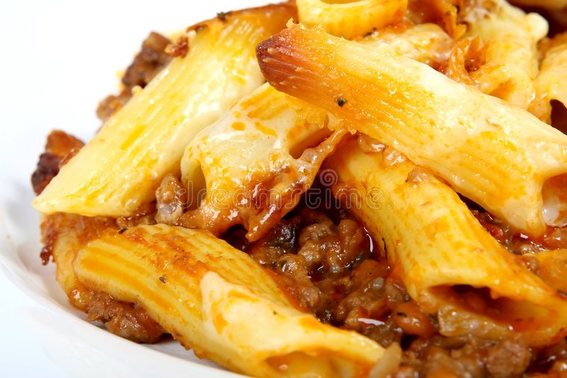 Download Italian Lasagne, Mince Meat With Pasta Cheese Sauce Stock Photo - Image: 1544534