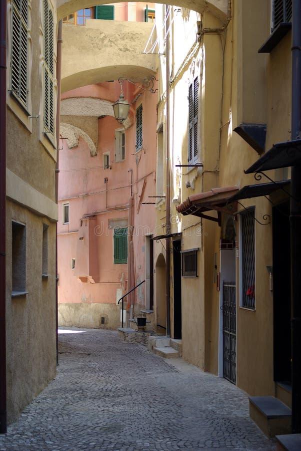 Italian medieval street