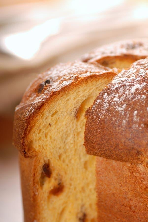 Italian Panettone Bread stock images