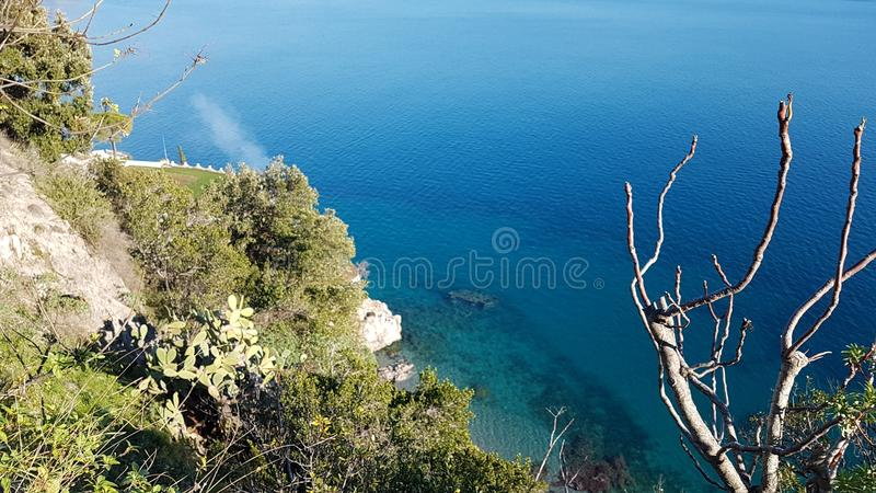 Italian paradise Amalfi coast stock photo
