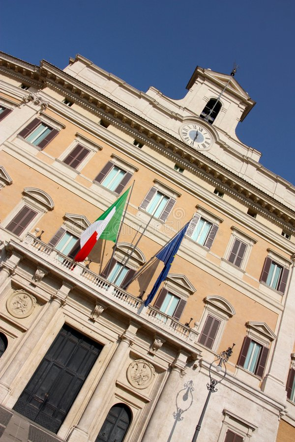 Download Italian Parliament In Rome, Italy Stock Image - Image: 7116745