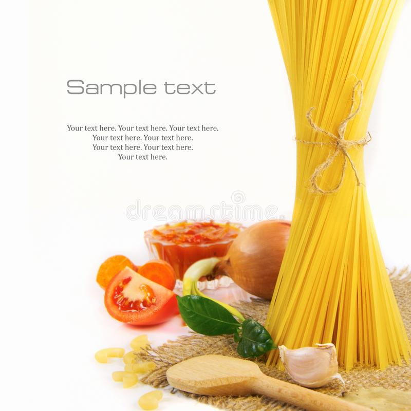 Free Italian Pasta Stock Photography - 19036722