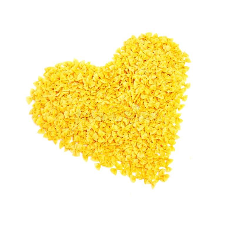 Download Italian pasta stock image. Image of symbol, gourmet, heart - 21713927