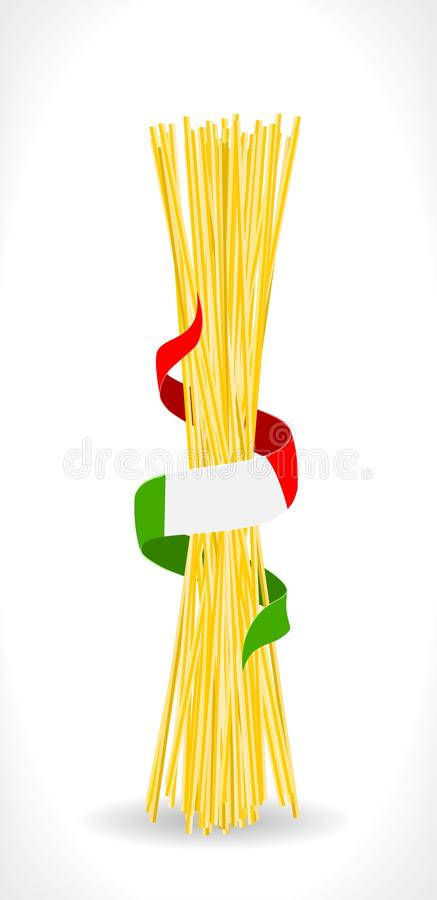 Download Italian pasta stock vector. Image of background, white - 25407757