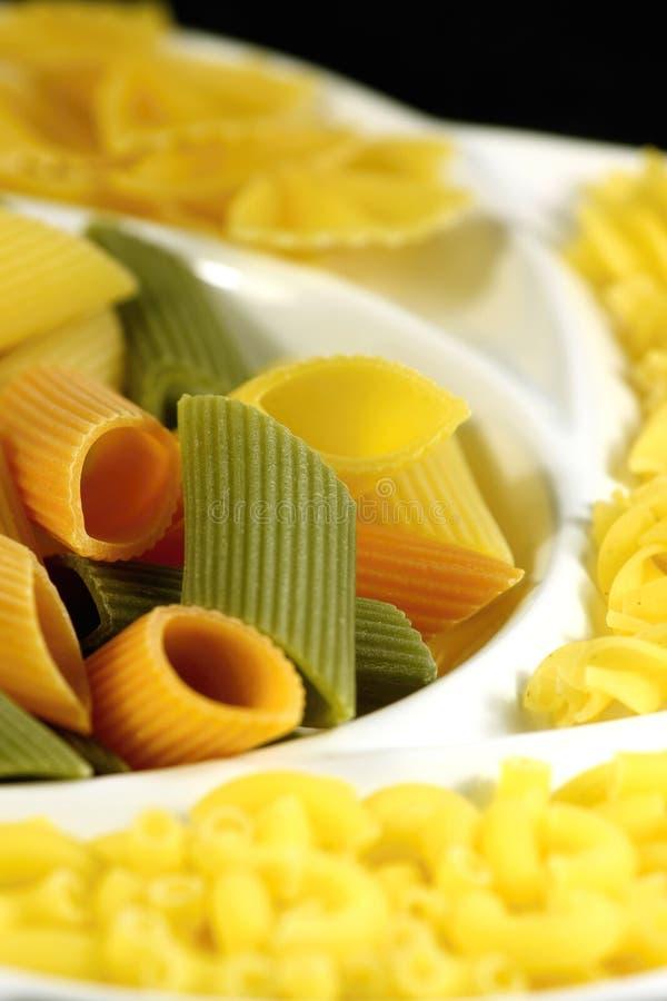 Italian pasta collection royalty free stock photos