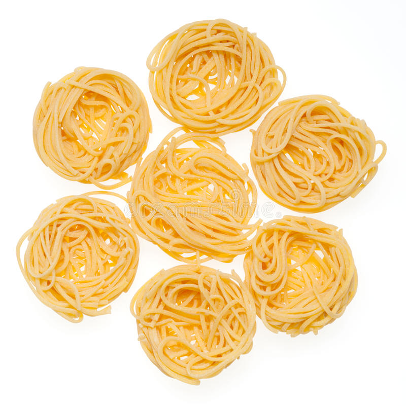 Free Italian Pasta Isolated On White. Stock Images - 31532584