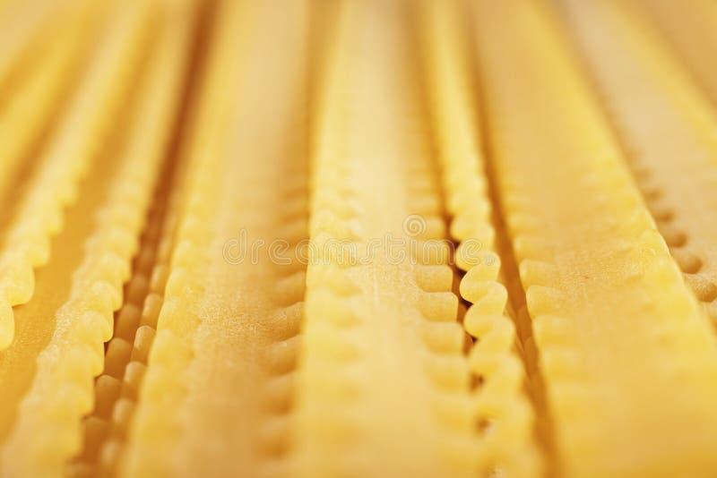 Italian pasta mafaldine royalty free stock photos