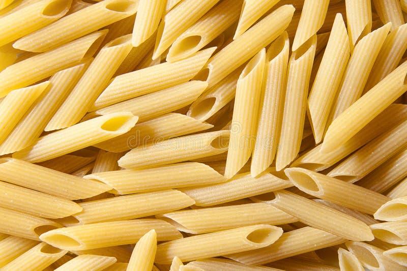 Italian pasta - penne royalty free stock image
