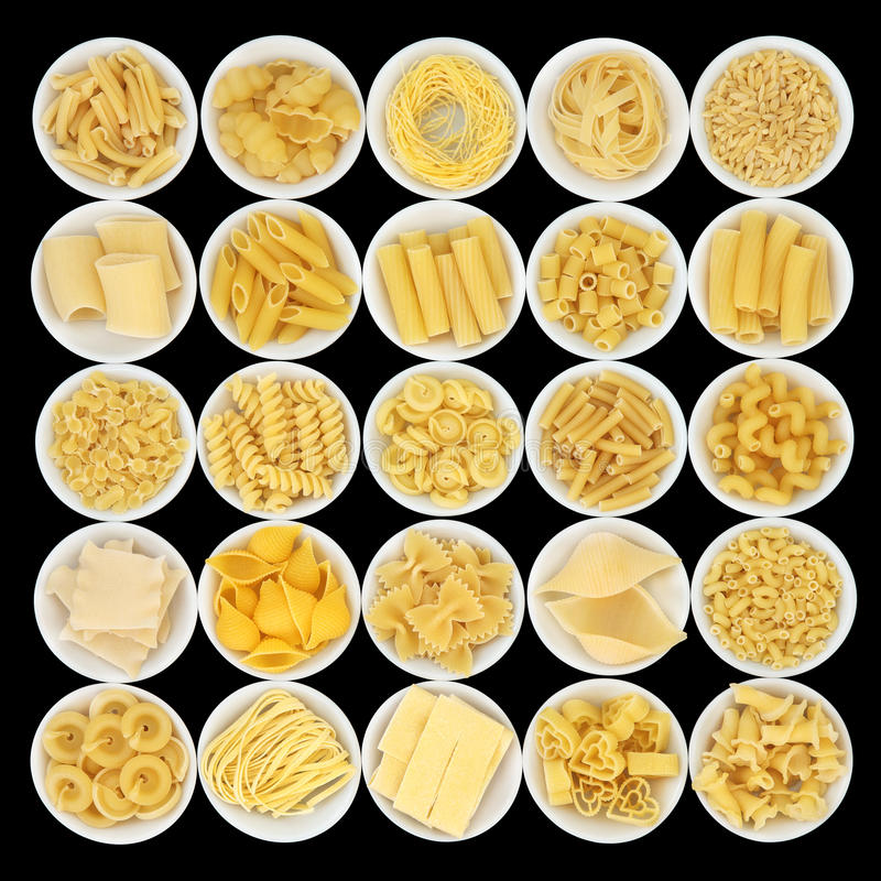 Italian Pasta Staple Food royalty free stock image