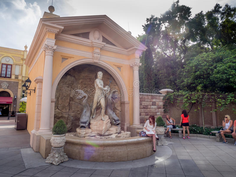Italian pavilion, World Showcase, Epcot royalty free stock image