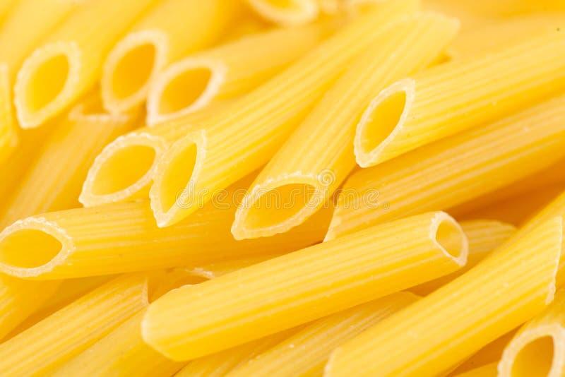 Italian Penne Rigate Macaroni Pasta stock image