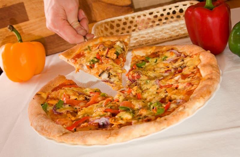 Italian Pizza royalty free stock image