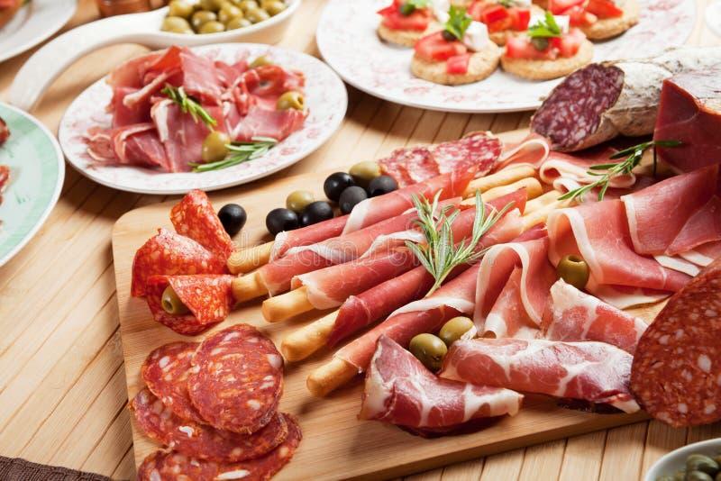 Italian Prosciutto Stock Photos