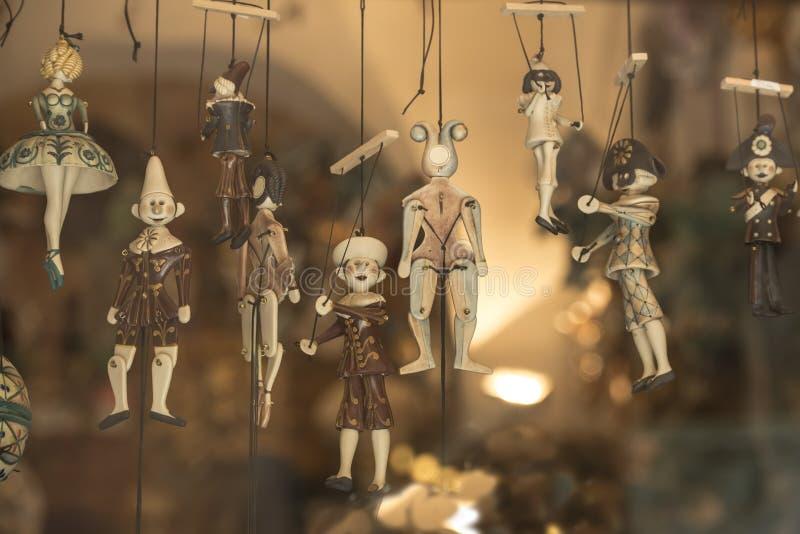 Italian Puppets stock photo