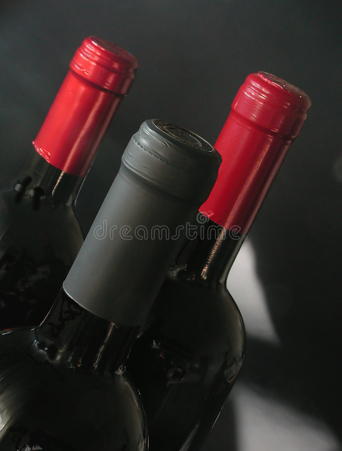 Italian quality wine stock photo