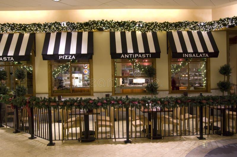 Italian restaurant in mall editorial photo image of