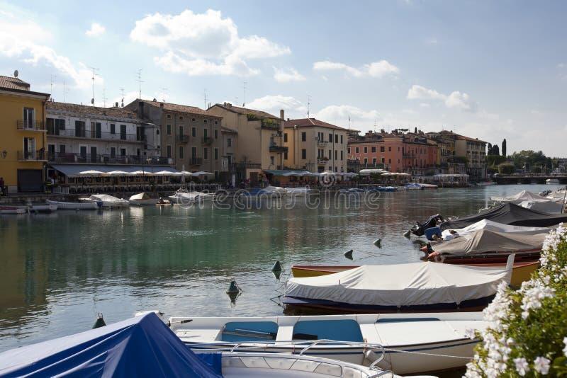 Italian river stock photo