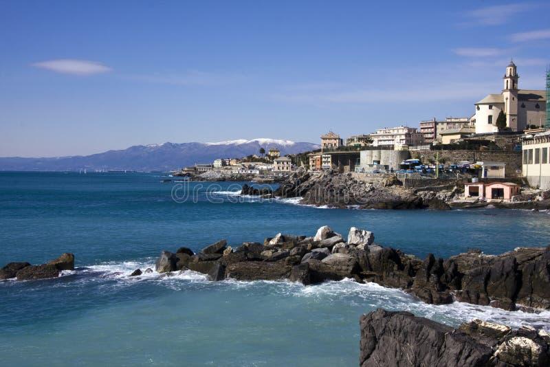 Download Italian Riviera stock image. Image of water, rock, travel - 8628323