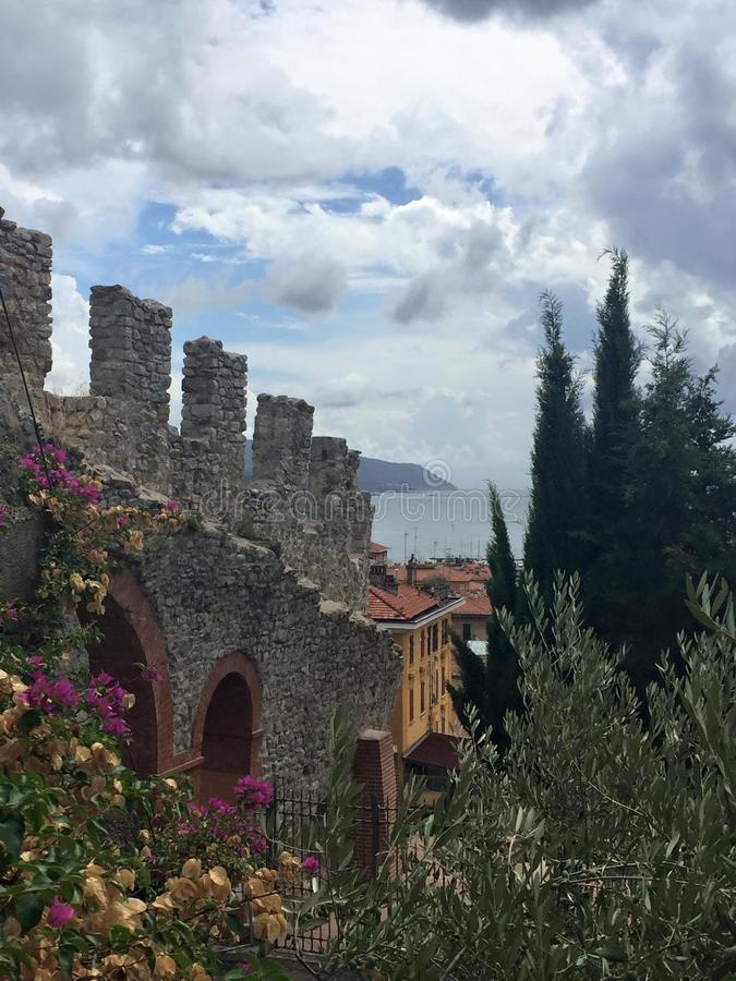 Italian Riviera stock photos