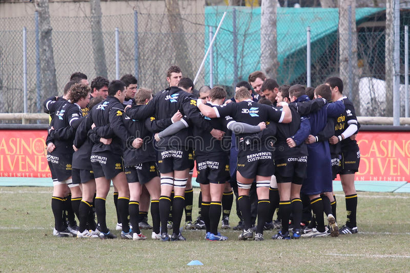 Italian Rugby Federation Cup Match