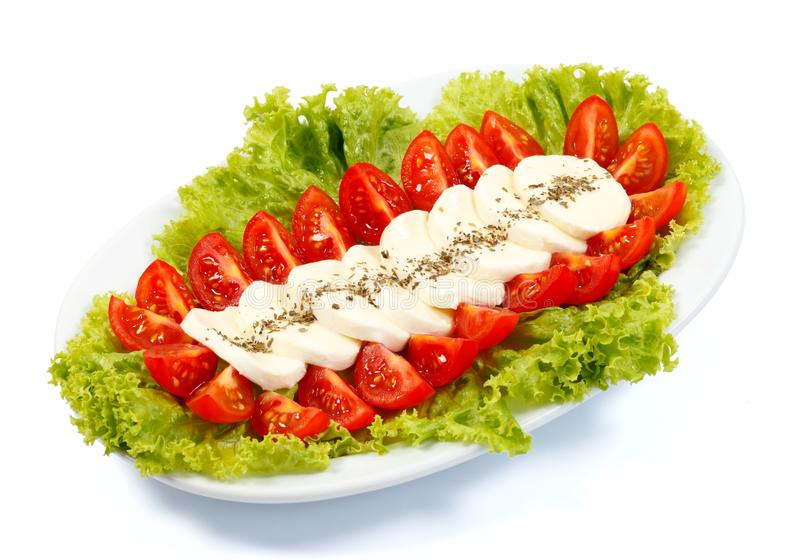 Download Italian salad stock photo. Image of mozzarella, diet - 20077446
