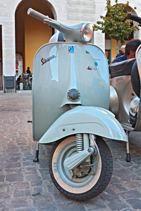 Italian Scooter Editorial Photography
