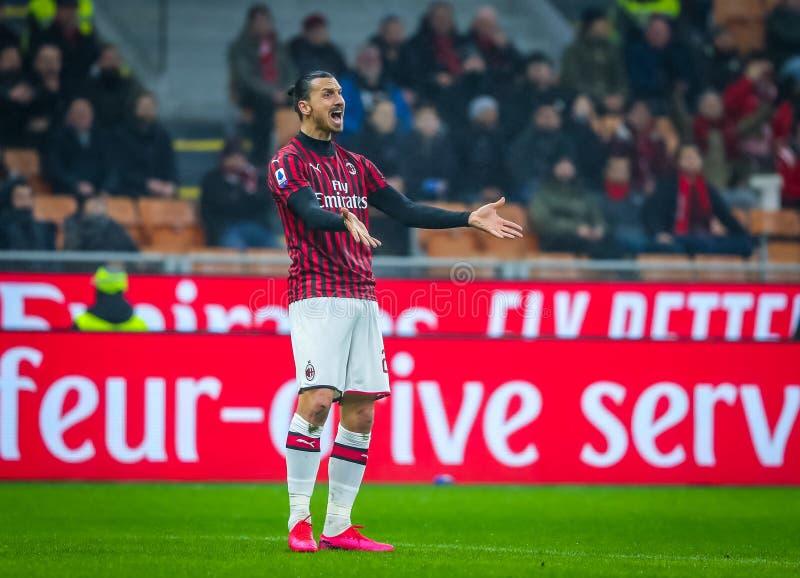 Italian Serie A Soccer Match AC Milan Vs Torino Editorial ...