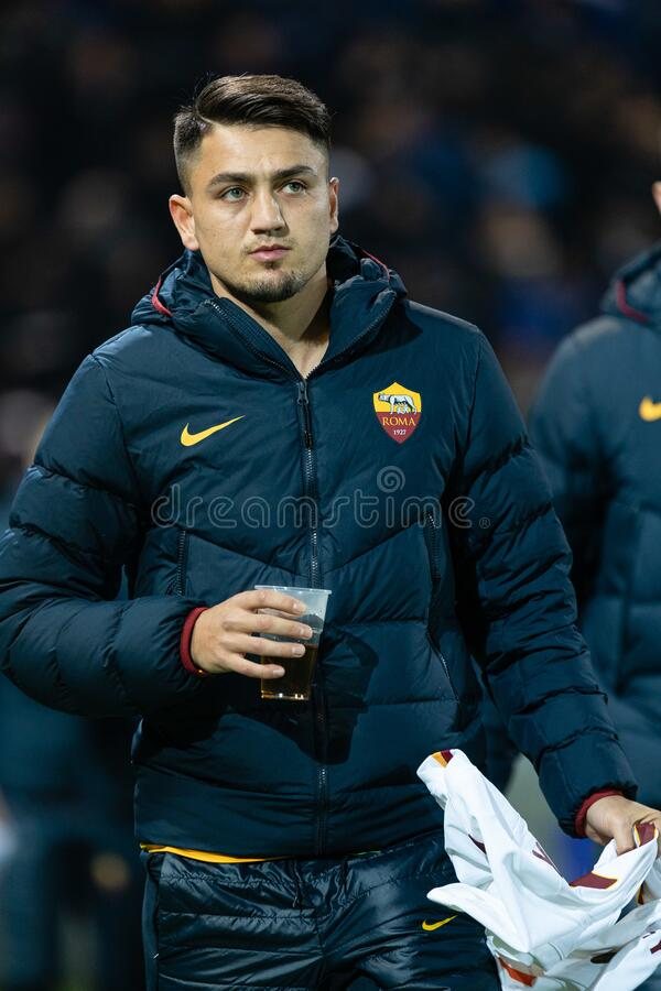 Italian Serie A Soccer Match Atalanta Vs AS Roma Editorial ...