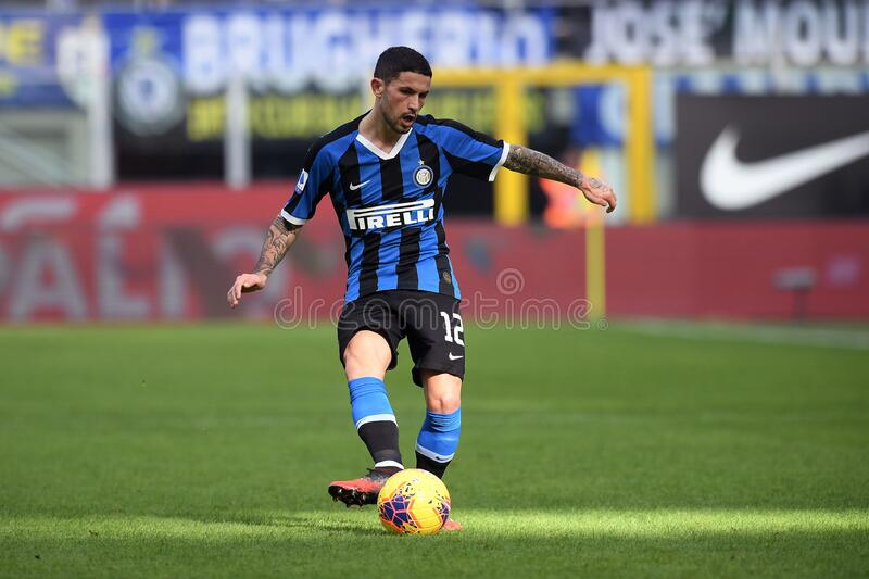 italian Serie A soccer match FC Internazionale vs Cagliari Calcio stock photography