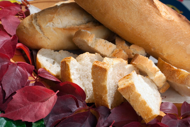 Download Italian Sfilatino Bread stock image. Image of mediterranean - 11628421