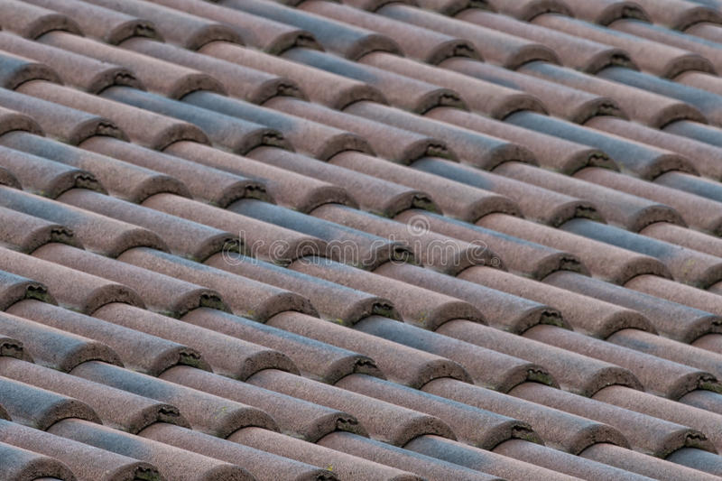 Download Italian shingle roof stock image. Image of material, texture - 40038777