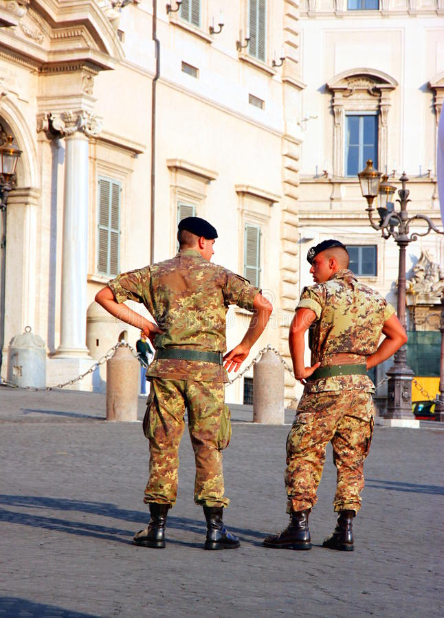 Free Italian Soldiers Royalty Free Stock Photos - 21629548