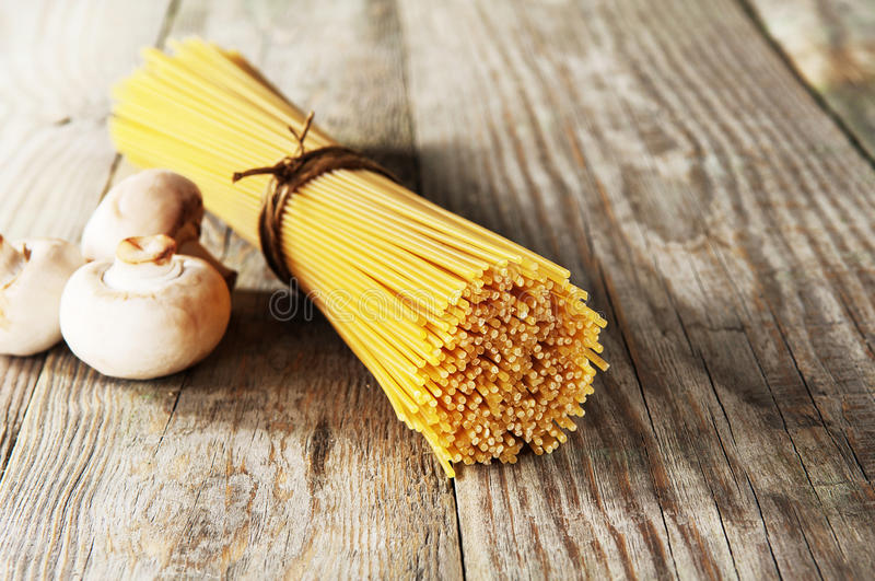 Italian spaghetti stock photography