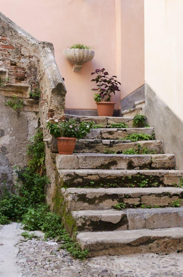 Italian Stairway Royalty Free Stock Photo