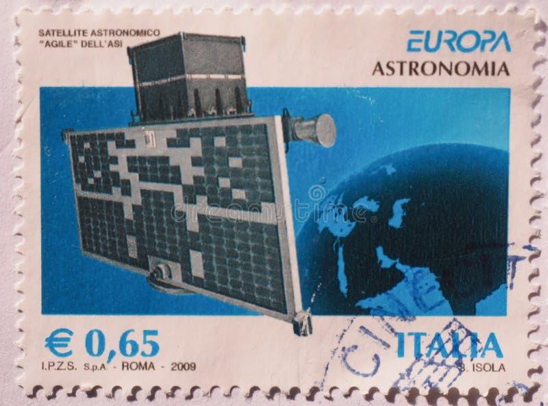 Italian stamp stock photos