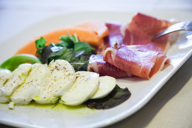 Download Italian starter stock image. Image of vegetable, dinner - 26855125