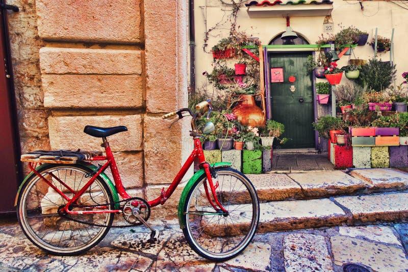 Italian street scene royalty free stock image