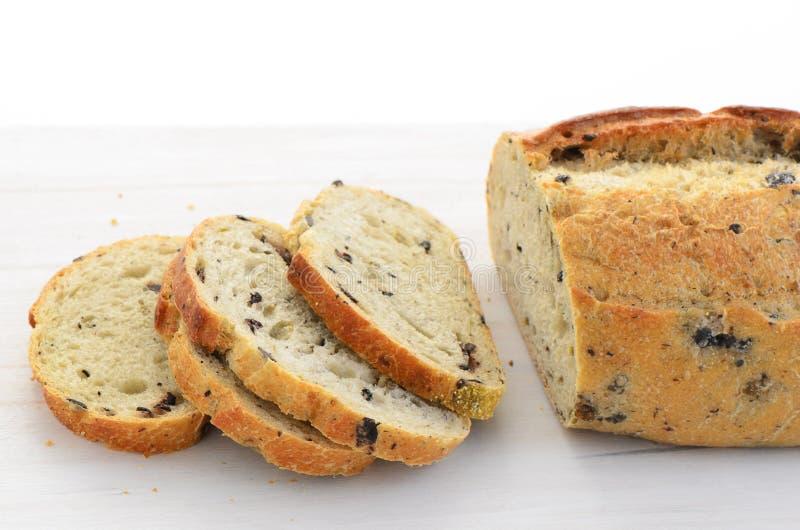 Italian Three Olive Loaf Stock Photo